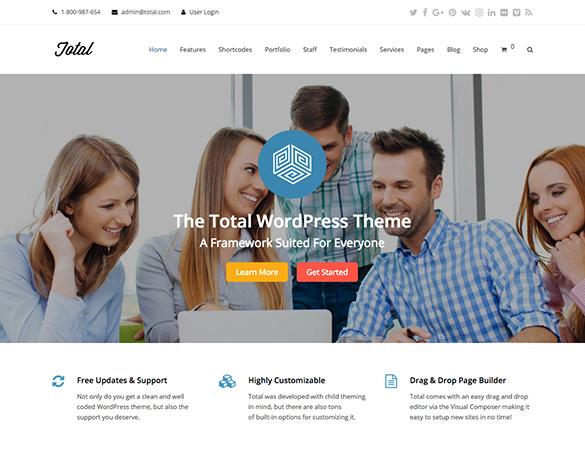 Total WordPress Tasarımları