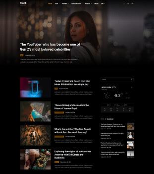 haber blog web sitesi tasarımı