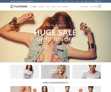 Flatsome E-ticaret Tasarımları