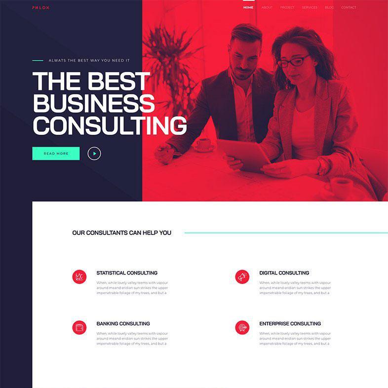 danışmanlık sitesi web tasarımı
