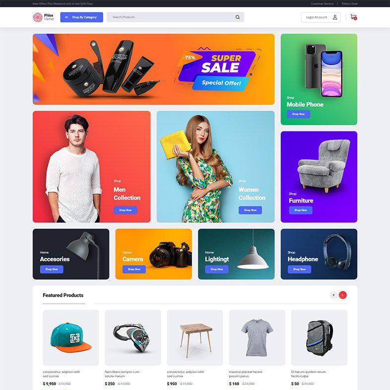 web sitesi tasarımı, ticaret, alışveriş teması