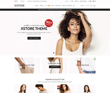 XStore Woocommerce E-ticaret Sitesi Tasarımları